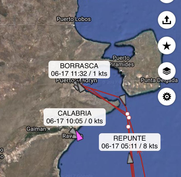 Rawson: un buque pesquero se hundió; hay un muerto y nueve desaparecidos